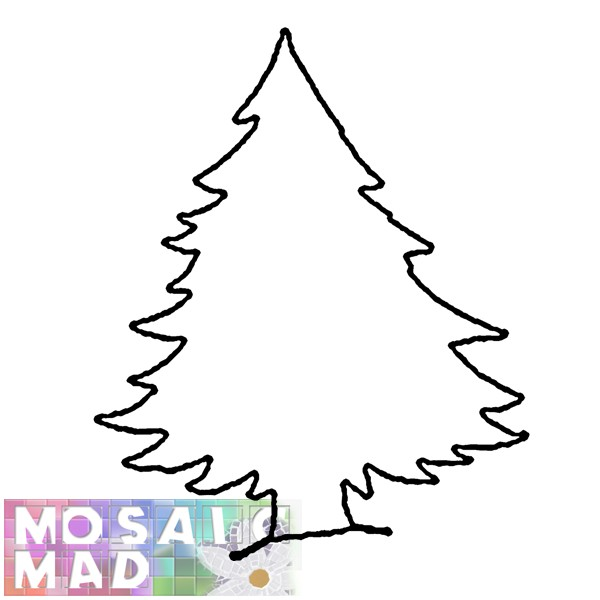 Printable Christmas Tree Pattern | New Calendar Template Site