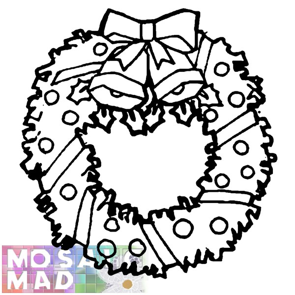Christmas Wreath Template Printable | Search Results | Calendar 2015