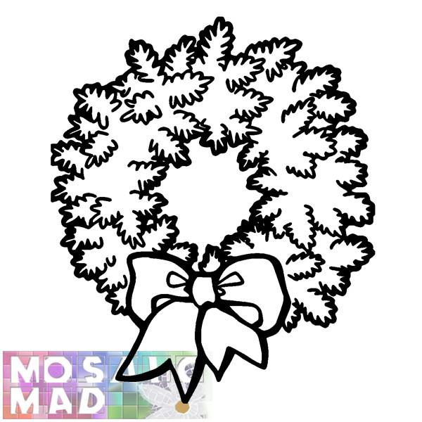 Christmas Wreath Template Printable | New Calendar Template Site